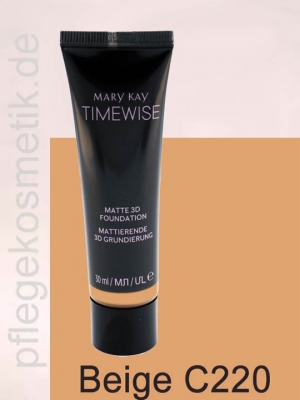 Mary Kay TimeWise Matte 3D Foundation, Beige C 220