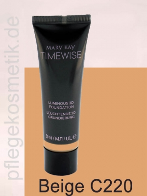 Mary Kay TimeWise Luminous 3D Foundation, Beige C220
