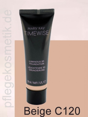 Mary Kay TimeWise Luminous 3D Foundation, Beige C120