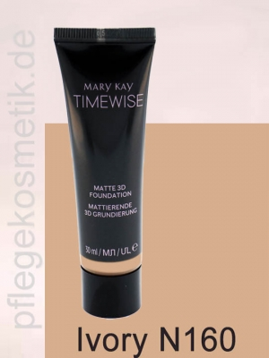 Mary Kay TimeWise Matte 3D Foundation, Ivory N 160