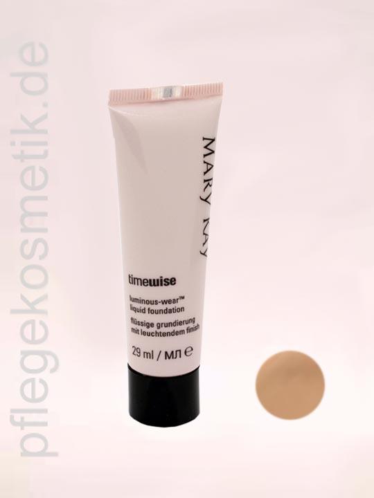Mary Kay TimeWise Liquid Foundation Luminous-Wear, Beige 3