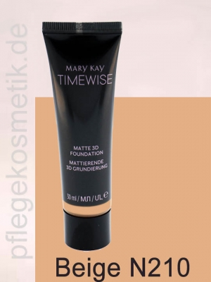Mary Kay TimeWise Matte 3D Foundation, Beige N 210