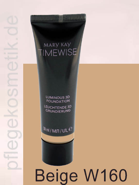 Mary Kay TimeWise Luminous 3D Foundation, Beige W160