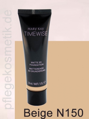 Mary Kay TimeWise Matte 3D Foundation, Beige N 150