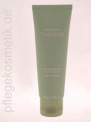Mary Kay TimeWise Age Minimize 3D Night Cream, Nachtcreme für Mischhaut bis fettige Haut