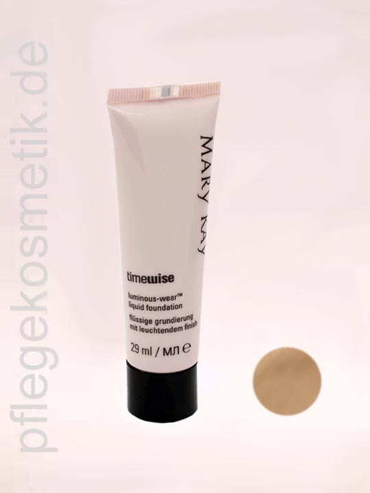 Mary Kay TimeWise Liquid Foundation Luminous-Wear, Beige 4