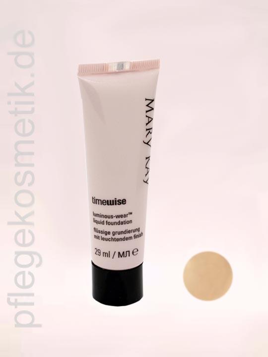 Mary Kay TimeWise Liquid Foundation Luminous-Wear, Ivory 6