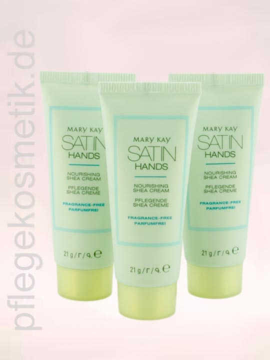 Mary Kay Satin Hands Hand Cream, Mini Reise 3er Set, Handcreme, parfumfrei