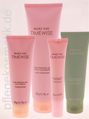 Mary Kay TimeWise Age Minimize 3D Wunder Set für normale bis trockene Haut