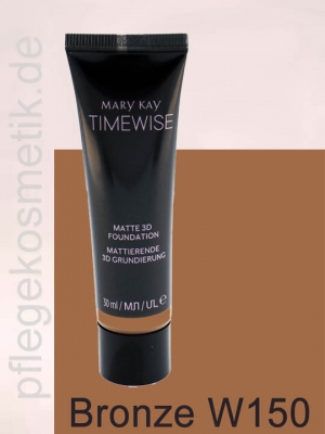 Mary Kay TimeWise Matte 3D Foundation, Bronze W 150