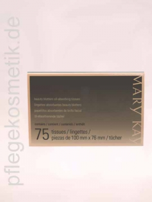 Mary Kay Beauty Blotters, Öl absorbierende Tücher (75 Stk)