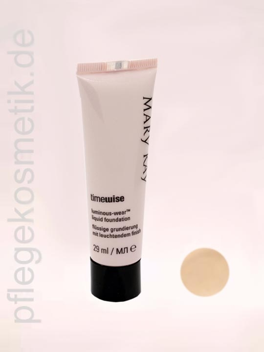 Mary Kay TimeWise Liquid Foundation Luminous-Wear, Ivory 3