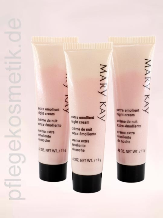Mary Kay Extra Emollient Night Cream Mini Reise 3er Set