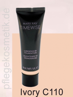 Mary Kay TimeWise Luminous 3D Foundation, Ivory C110