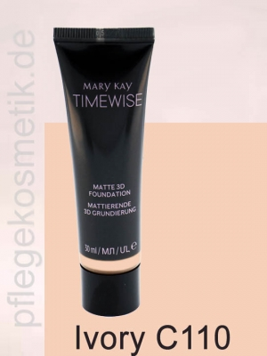 Mary Kay TimeWise Matte 3D Foundation, Ivory C 110