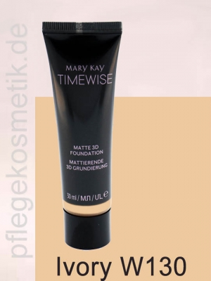 Mary Kay TimeWise Matte 3D Foundation, Ivory W 130