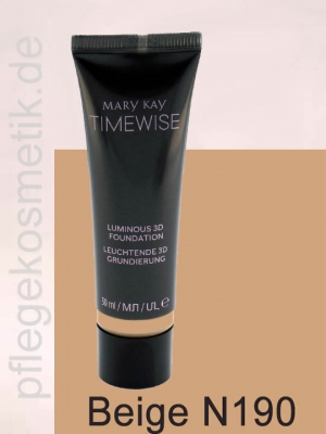 Mary Kay TimeWise Luminous 3D Foundation, Beige N190