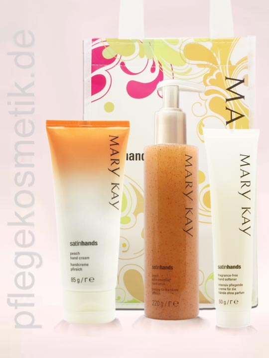 Mary Kay Satin Hands Set, Pfirsich